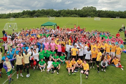 2013 London Football Marathon sign up here