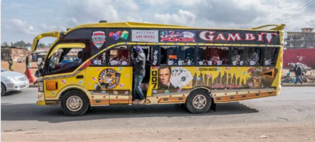 The ubiquitous Nairobi matatu - fear and fun in equal measure