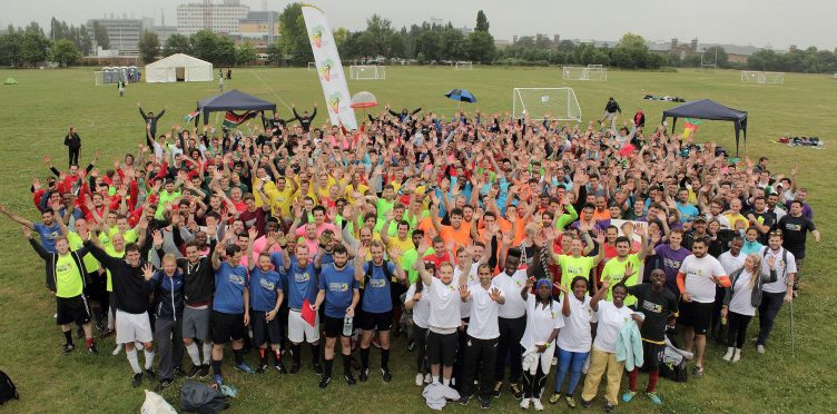 Future football marathoners turn up the heat