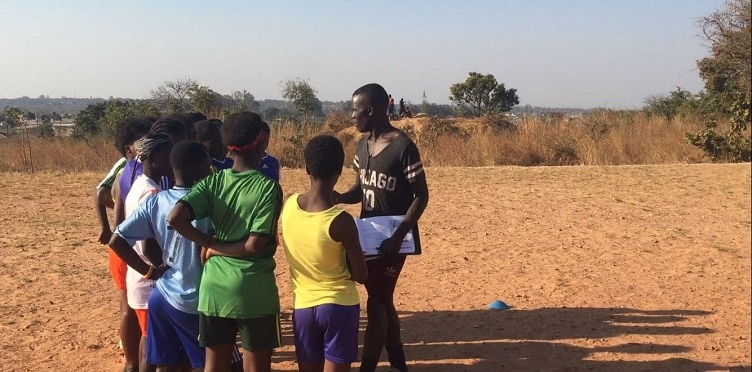 My first TackleAfrica session
