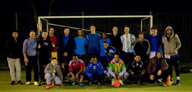 Lancaster businesses support refugees to play in Football Marathon