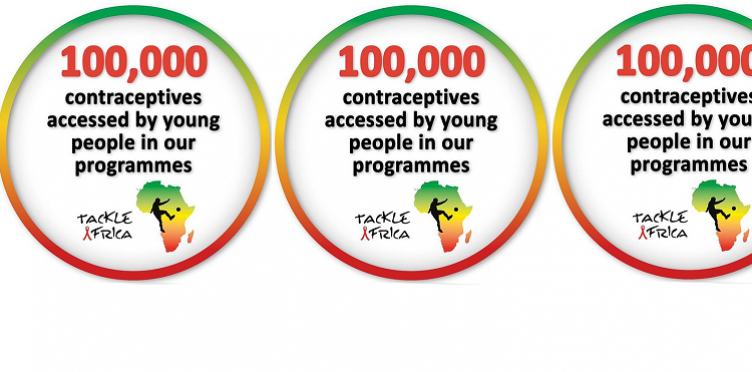 Celebrating our 100,000 contraceptives milestone